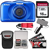 Nikon Coolpix W100 Wi-Fi Shock & Waterproof Digital...