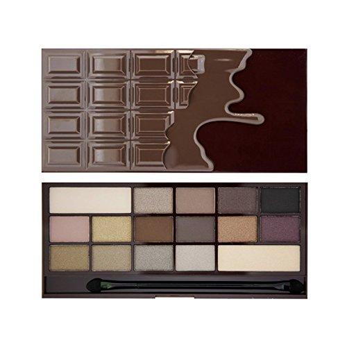 Makeup Revolution Eyeshadow Palette, Death By Chocolate