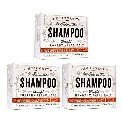 J·R·LIGGETT'S All-Natural Shampoo Bar, Virgin Coconut and Argan Oil - Strong