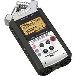 Zoom H4n Portable Digital Recorder Package with Samson HP-10 Headphones
