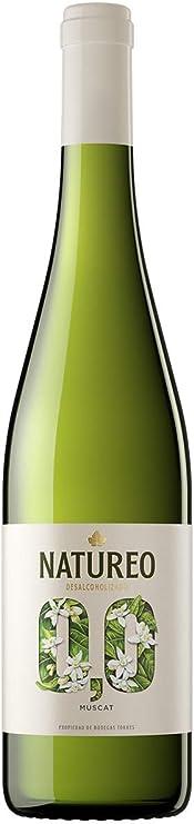 Natureo Muscat Vino Blanco Desalcoholizado, 750ml