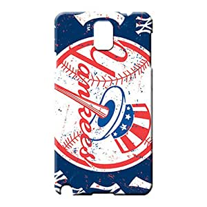 samsung note 3 Sanp On Snap Back Covers Snap On Cases For phone cell phone shells new york yankees mlb baseball