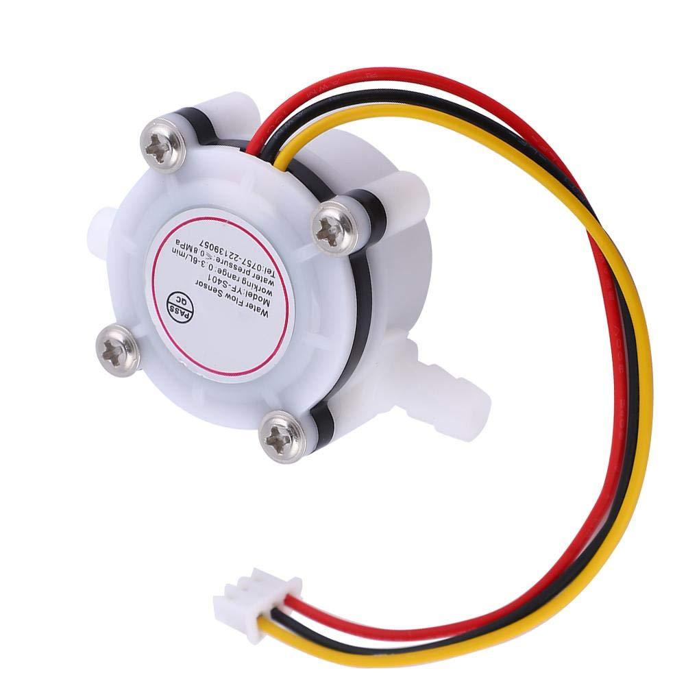 1Pcs Water Hall Flows Effect Sensor Control Flowmeter with Barb Joint Water Flows Sensor