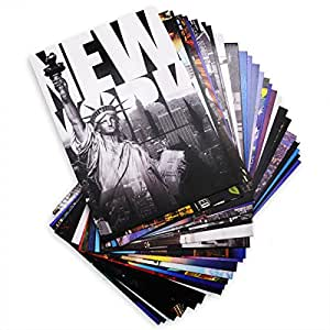 New Collectible Edition! 30 Various NYC New York Photo Postcards 4x6 Inch