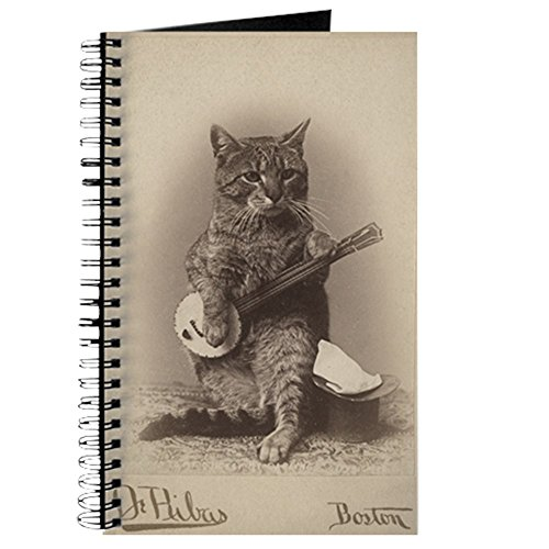 Notebook Tee - CafePress Cat_Tee Spiral Bound Journal Notebook, Personal Diary, Blank