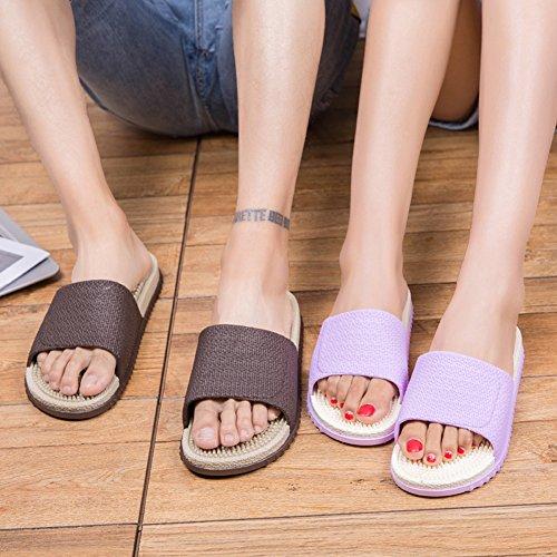 Sandalias Piscina Marrón Ducha Mujer Slippers Zapatos Suave Casa Verano Antideslizante Pink Classic Super Hombre Baño Playa CanWgvwB
