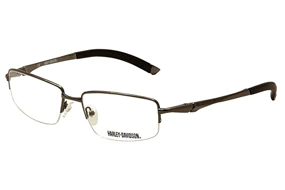 7f5a1bc4235 Amazon.com  Harley Davidson Eyeglasses HD365 Gunmetal Optical Frame ...