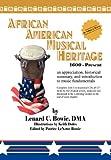 African American Musical Heritage, Lenard C. Dma Bowie, 1465362533