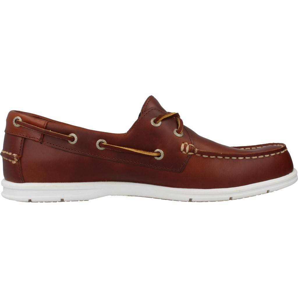 Sebago Men'S Men'S Litesides Two Eye Brow Oiled Waxl Shoes In Size 44.5 E (W) Brown Vwgas