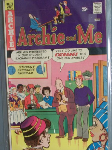 Archie and Me Comic Book (Pressing Engagement, 75)