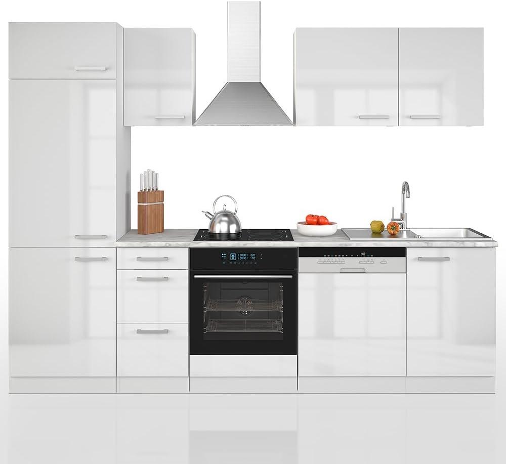 Vicco Küche 12 cm Küchenzeile Küchenblock Einbauküche Komplettküche – Frei  Kombinierbar