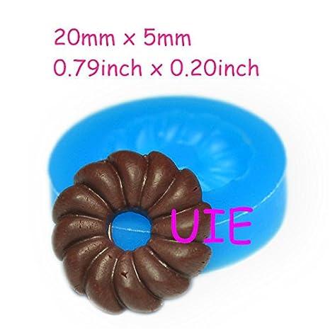 039LBT cruller Donut molde adorno Flexible seguro para los ...