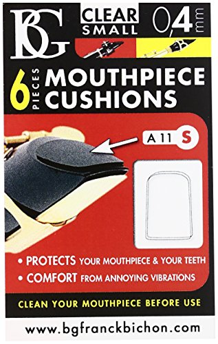 BG Transparent Clarinet Mouthpiece Patch - Small 0.4mm (6 Count)