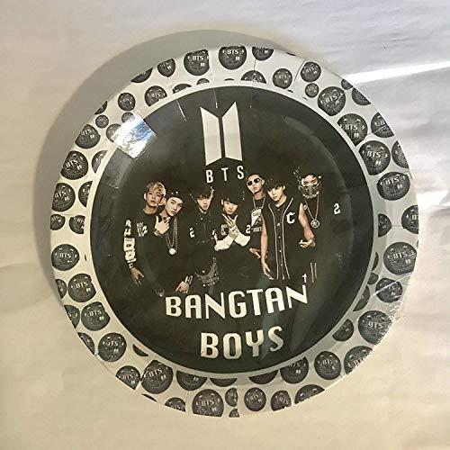 BTS Cake Plates, K-Pop Bangtan Boys, Round 7