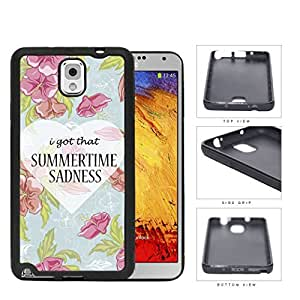 I Got That Summertime Sadnesss Hard Plastic Snap On Cell Phone Case Samsung Galaxy Note 3 III N9000 N9002 N9005