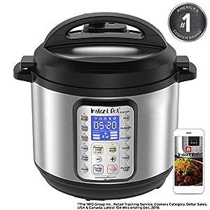 Instant Pot Smart Wifi 6 Quart Multi-use Electric Pressure, Slow, Rice Cooker, Yogurt, Cake Maker, Sauté, Steamer and…