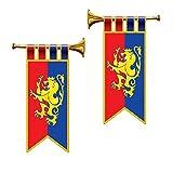 Royal Trumpet Banner Cutouts