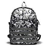RMXMY Survival Three-Level Package Jedi Chicken 3 Level Backpack Men's Backpack Fashion Trend Rucksack for Outdoors Hiking Camping Trekking (Size : B)
