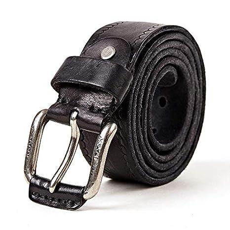 H-M-STUDIO Cinturones De Los Hombres Simples Y Versátiles ...