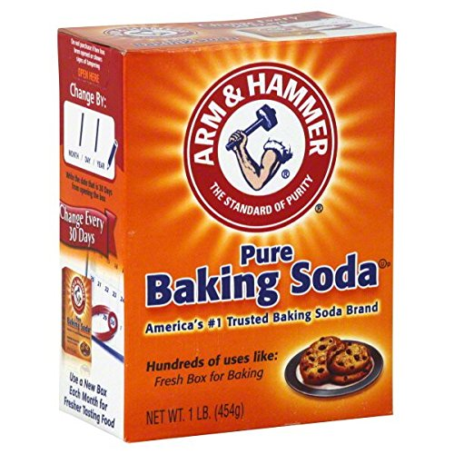 Arm and Hammer CD-01110-6 Baking Soda 16 oz. Box - 6 in - Box Oz Baking Soda 16