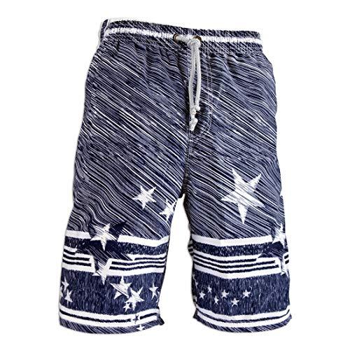 3e2c9a1468 Prefer To Life Board Shorts Men's Swimwear Water Park Beach Shorts Beachwear  Sports Swim Surfing Pants(M Size Meteor Shower - Blue)