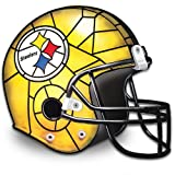 The Pittsburgh Steelers Louis Comfort Tiffany-Style Accent Lamp by The Bradford Exchange