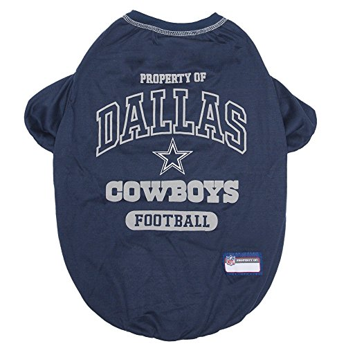 NFL DALLAS COWBOYS Dog T-Shirt, X-Large ()