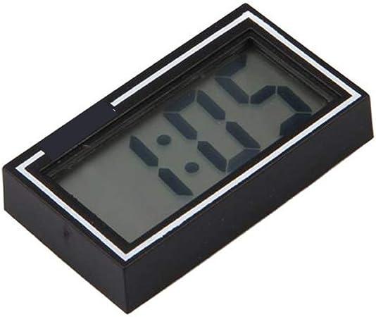 Ddg Edmms Tragbare Mini Digital Lcd Armaturenbrett Schreibtisch Datum Zeit Kalender Uhr Auto Auto Zeit Kalender Uhr Schwarz Küche Haushalt