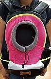 Dog - cat - pet - bag - carrier - backpack (Pink)