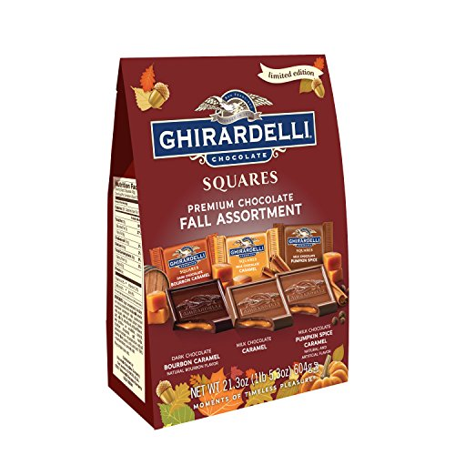 Ghirardelli Chocolate Squares - Ghirardelli Premium Chocolate Fall Assortment, 21.3 Ounce