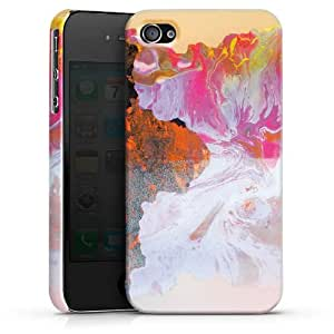Carcasa Design Funda para Apple iPhone 4 / 4S PremiumCase white - Ecology