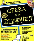 img - for Opera For Dummies by David Pogue (21-Aug-1997) Paperback book / textbook / text book