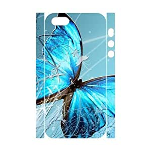 phone covers 3D Bumper Plastic Customized Case Of Butterfly for iPhone 5c