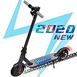 51L%2B0sP2jcL. SS150 Hoverboards Monopattino Elettrico Scooter, Monopattino Elettrico per Adulto velocità Massima 25km/h, Fanale e Display a…