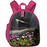 Lounge Chairs And Flowers Kid Daypack Outdoor