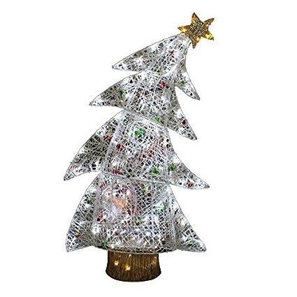 Holiday Living Christmas Tree.Amazon Com Holiday Living 4 Ft Bent Tree Outdoor Christmas