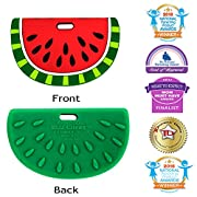 Silli Chews Watermelon Baby Food Teether Infant Toddler Silicone Teething Toy