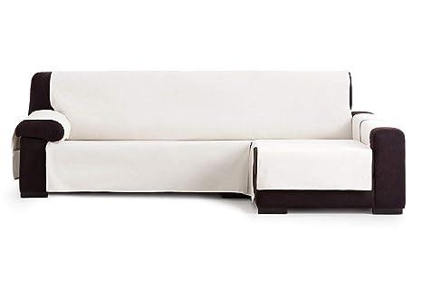 Jarrous Funda Cubre Chaise Longue Práctica Impermeable Modelo Gijón, Color Crudo-00, Medida Brazo Derecho – 290cm (Mirándolo de Frente)