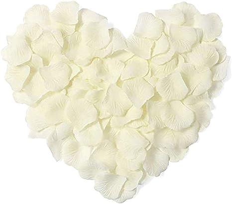 1000 Stück künstliche Rosenblütenblätter Konfetti Hochzeitsdekoration Requisiten