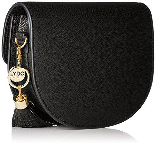 001 Lydc Black sac bandoulière Bella Noir waq84Xa