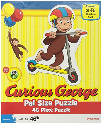 Curious George Pal Size Puzzles, Styles may vary