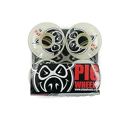 Pig Head Natural Ruedas de Skate 53 mm: Amazon.es: Deportes y aire libre