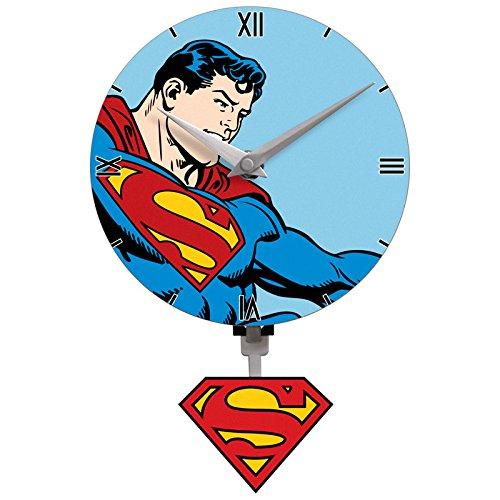 Superman Mini Motion Wall Clock