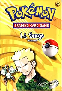 Lt. Surge Gym Heroes Theme Deck [Toy] [Toy]