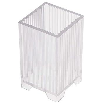 F Fityle Cubo Cuadrado en Forma de Plástico Claro Vela de Molde y Herramienta para Hacer Jabón y Velas a Mano,Decoración de Bodas Caseras, Velas Votivas: ...