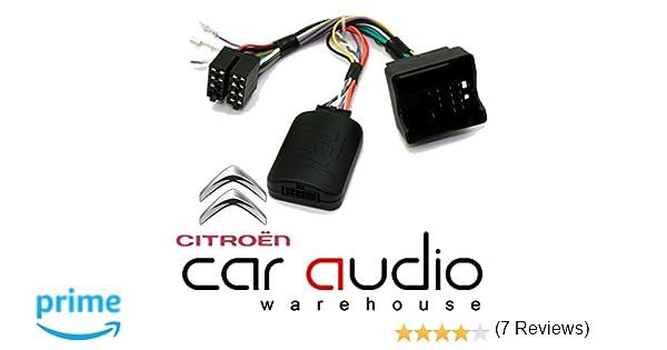 T1 Audio T1-CT3 - Adaptador de Interfaz de Control de Volante para Citroen C2,C3,C4,C5 MKII,C8, DS3, C3 Picasso, C4 Picasso, Berlingo: Amazon.es: Coche y ...