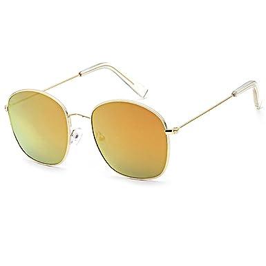 LAND-FOX Mujer Moda Marco grande Gafas de sol cuadradas ...