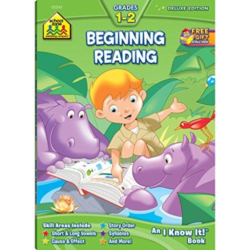 Beginning Reading 1-2 (Deluxe Workbook)