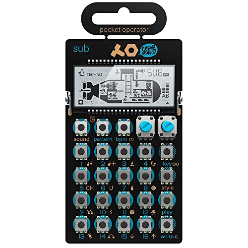 Teenage Engineering TE010AS014 PO-14 Sub Bass Synthesizer & Sequencer Bass Synthesizer