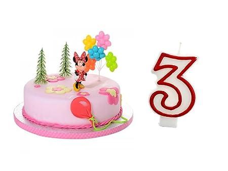 Partydeko Stefino Decoración para Tartas (3. Cumpleaños ...